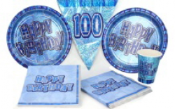 Glitzy Blue 100th