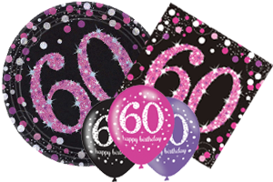60th Birthday Pink Celebration