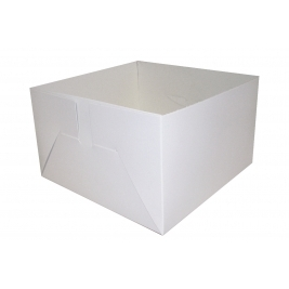 Cake Box Base Only - Folded and Boxed ( 12 Inch) - 50Pk