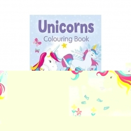 Books Unicorns Colouring Book