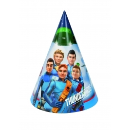 Thunderbirds Party Hats- Pack of 8