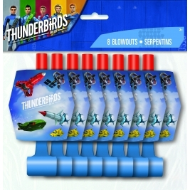 Thunderbirds Blow Outs- Pack of 8