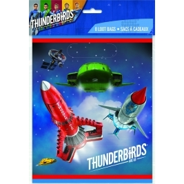 Thunderbirds Loot Bags- Pack of 8