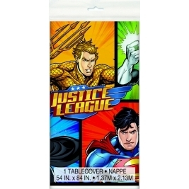Justice League Plastic Table cover 54