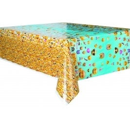 Emoji Party Plastic Table Cover