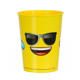 Emoji Party Smiley Plastic Cup