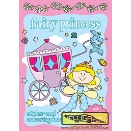 Alligator  Fairy Princess Sticker Book  575fysb