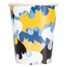 Batman 9oz Paper Cups Pack of 8