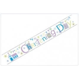 Christening Wall Banner