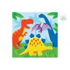 Dinosaur Friends Lunch Napkins 2 Ply - Pack Of 16