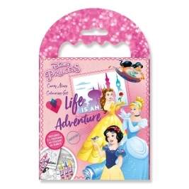 Disney Princess Carry Along Coloring Set
