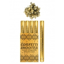 Gold Paper Confetti Shooter 1pc - 50cm