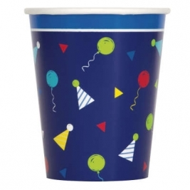 Peppy Birthday 9oz Paper Cups 8ct
