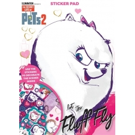 Secret Life of Pets 2 Shaped Sticker Pad