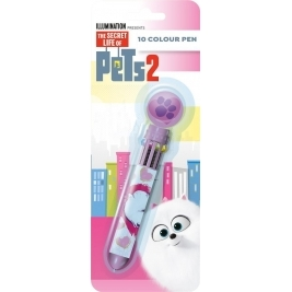 Secret Life of Pets 2 - 10 Color Pen