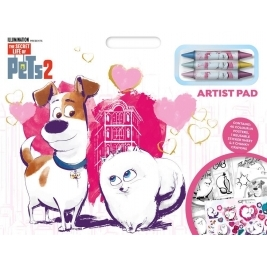Secret Life of Pets 2 - Artist Pad