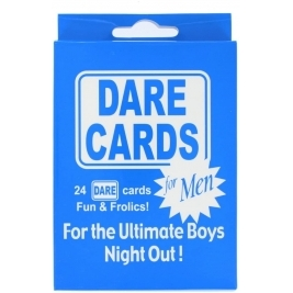 Stag Party Dare Cards