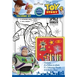 Toy Story 4 Coloring Set