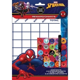 Ultimate Spiderman Reward Charts