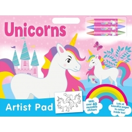 Unicorns Artist Pad
