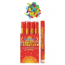 Multicolour Paper Confetti Shooter/Cannon - 50cm