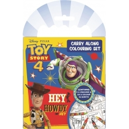Toy Story 4 Carry Along Coloring Set