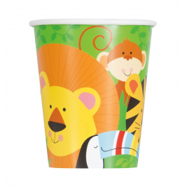Animal Jungle Cups 9oz (8pk)