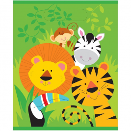 Animal Jungle Loot Bags (8pk)