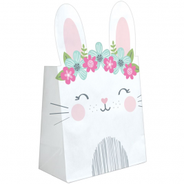 Birthday Bunny Paper Treat Bag