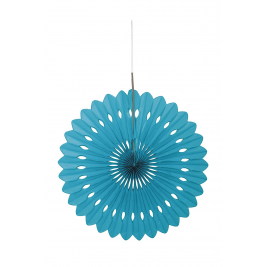 caribbean teal DECORATIVE  FANS