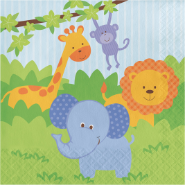 Celebrations Value Forest Friends 2 ply Lunch Napkins  Pack of 16