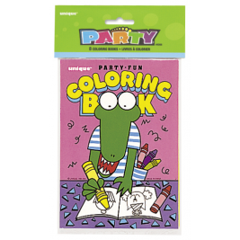 COLORING BOOKS - PACK OF 8