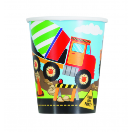 Construction Party Cups 9oz (8pk)
