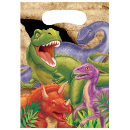 Dino balst Loot Bag Pack of 8