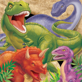 Dino Blast 3ply Lunch Napkin Pack of 16