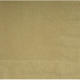 GOLD Paper Tableware-LUNCHEON NAPKINS - Pack of 20