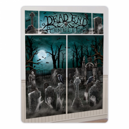 Halloween Cemetery Wall Decoration Set
