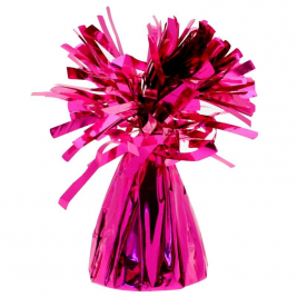 12 X Helium Hot Pink Foil Balloon Weights