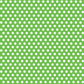 Green Polka Dots    Gift Wrap Roll 30