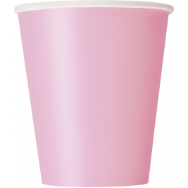 LOVELY PINK  9 OZ. CUPS - Pack of 14