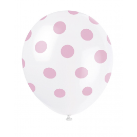 LOVELY PINK POLKA DOTS 12