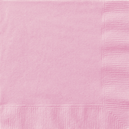 LOVELY PINK LUNCHEON NAPKINS - Pack of 20