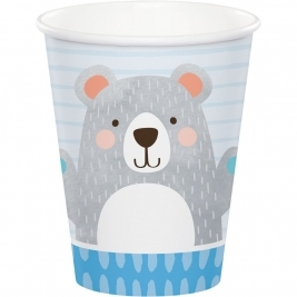 Birthday Bear Hot/Cold Cup 9Oz Pack of 8