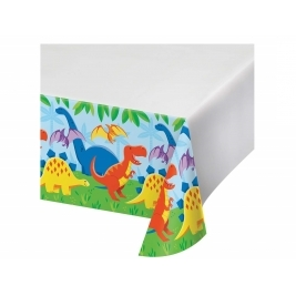 Celebrations Value Dinosaur Friends Plastic Tablecover Border Print