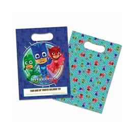 PJ Masks Party Loot Bags - Pack Of 8