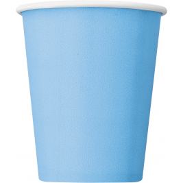 BABY BLUE 9 OZ. CUPS - Pack of 14