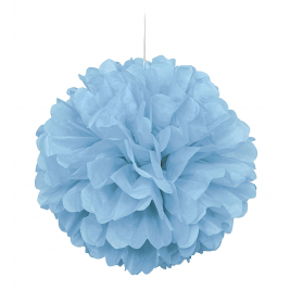 PUFF DECOR  CARIBBEAN TEAL   PACK OF 12