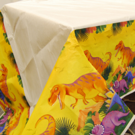 Prehistoric Party Paper Tablecovers 1.37m x 2.43m