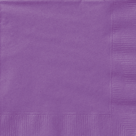 PRETTY PURPLE LUNCHEON NAPKINS - Pack of 20
