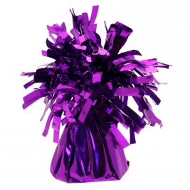 Purple Foil Balloon Weight Pack of 12